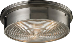 Elk Lighting Flushmounts 3 Light Flushmount Brushed Nickel 114633