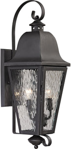 Elk Lighting Forged Brookridge 2-Light Outdoor Wall Light Charcoal 47101/2