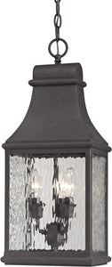 Elk Lighting Forged Jefferson 3-Light Outdoor Pendant Light Charcoal 47074/3