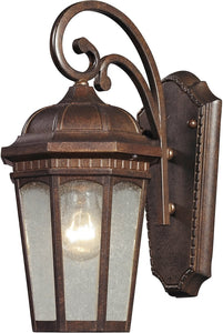 Elk Lighting Fullerton 1 Light Outdoor Wall Sconce Hazelnut Bronze 470301