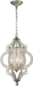 Elk Lighting Gabrielle 3-Light Chandelier Aged silver 16270/3