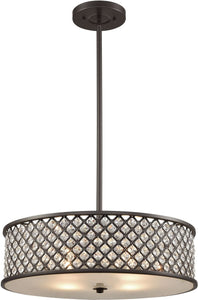 Elk Lighting Genevieve 4-Light Chandelier Oil Rubbed Bronze 32105/4