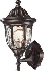 Elk Lighting Glendale 1 Light Outdoor Wall Sconce Regal Bronze 450001