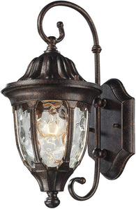 Elk Lighting Glendale 1 Light Outdoor Wall Sconce Regal Bronze 450021