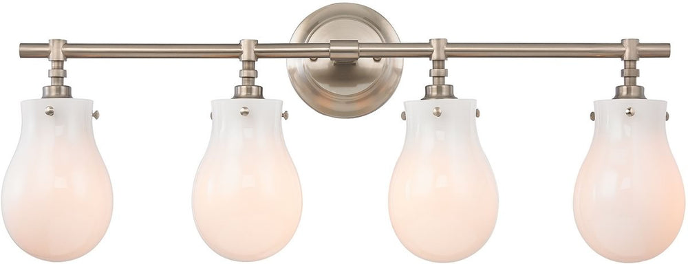 "29""W Jaelyn 4-Light Bath Light Brushed Nickel"