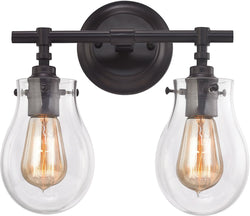 Elk Lighting Jaelyn 2-Light Bath Light Oil Rubbed Bronze 31931/2