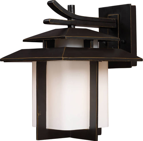 Elk Lighting Kanso 1-Light Outdoor Wall Lantern Hazelnut Bronze 421711