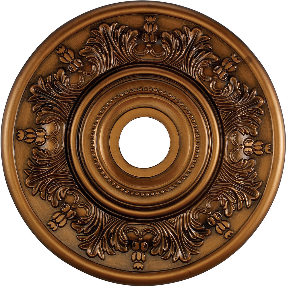 "21""W Laureldale Ceiling Medallion Antique Bronze"