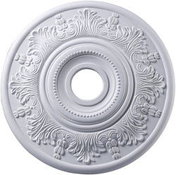 "21""w Laureldale Ceiling Medallion White"