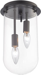 Elk Lighting Lightway 2-Light Flush Mount Oil Rubbed Bronze 14371/2