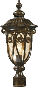 Elk Lighting Logansport 1-Light Outdoor Post Light Hazelnut Bronze 45073/1
