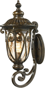 Elk Lighting Logansport 1-Light Outdoor Wall Light Hazelnut Bronze 45071/1