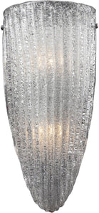 "7""w Luminese 2-Light Wall Sconce Satin Nickel"
