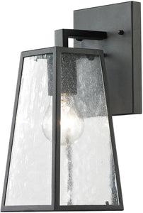 Elk Lighting Meditterano 1-Light Outdoor Wall Light Textured Matte Black 45090/1