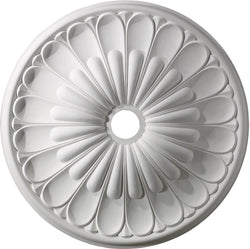 Elk Lighting Melon Reed Ceiling Medallion White M1009WH