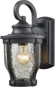 Elk Lighting Milford 1-Light Outdoor Wall Light Graphite Black 87070/1