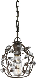 "8""w 1-Light Mini Pendant Oil Rubbed Bronze"