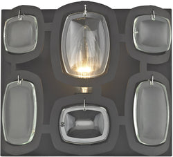 Elk Lighting Monserrat 1-Light Vanity Oil Rubbed Bronze/Clear Glass 811601