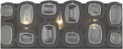 Elk Lighting Monserrat 3-Light Vanity Oil Rubbed Bronze/Clear Glass 811613