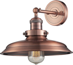 Elk Lighting Newberry 1-Light Wall Sconce Antique Copper 55030/1