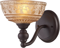 Elk Lighting Norwich 1-Light Wall Sconce Oiled Bronze 661901