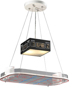 Elk Lighting Novelty 2-Light Pendant Hockey 51382