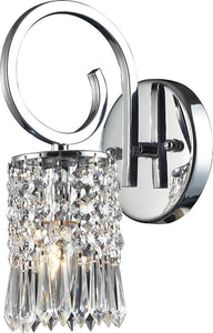 Elk Lighting Optix 1-Light Wall Sconce Polished Chrome 25951