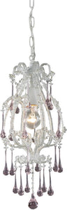 Elk Lighting Opulence 1-Light Pendant Antique White 120031RS