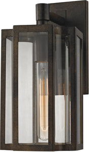 Elk Lighting 13 inchh 1-Light Outdoor Wall Lantern Polished Nickel 451441