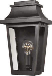 Elk Lighting 15 inchh 1-Light Outdoor Wall Lantern Aged Silver 461901