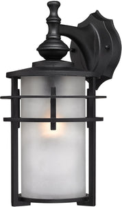 Elk Lighting 13 inchh 1-Light Outdoor Wall Lantern Aged Silver 462511