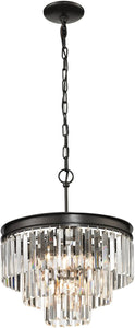 Elk Lighting Palacial 4-Light Pendant Oil Rubbed Bronze 14212/3+1