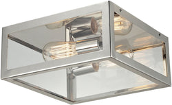 Elk Lighting Parameters 2-Light Semi Flush Mount Polished Chrome 31211/2