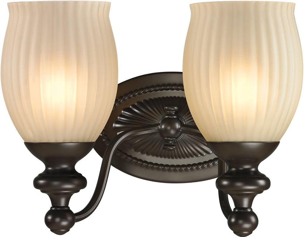 "11""W Park Ridge 2-Light Bath Light Oil Rubbed Bronze"
