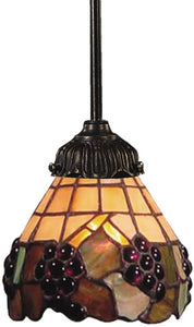 Elk Lighting Mix-N-Match 1-Light Pendant Tiffany Bronze 078TB07