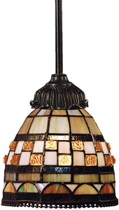 Elk Lighting Mix-N-Match 1-Light Pendant Tiffany Bronze 078TB10