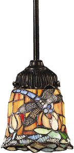 "3""w Mix-N-Match 1-Light Pendant Tiffany Bronze"