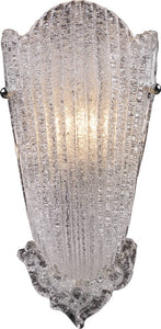Elk Lighting Providence 1-Light Wall Sconce Antique Silver Leaf 15101