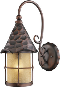 Elk Lighting Rustica 1-Light Outdoor Wall Mount Antique Copper 385AC