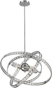 Elk Lighting Saturn 6-Light Chandelier Chrome 82030/6