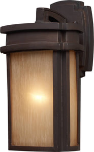Elk Lighting Sedona 1-Light Outdoor Wall Lantern Clay Bronze 421401