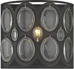 Elk Lighting Serai 1-Light Vanity Oil Rubbed Bronze/Clear Glass 811201