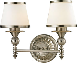 Elk Lighting Smithfield 2-Light Bath Light Brushed Nickel 11601/2
