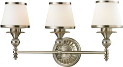Elk Lighting Smithfield 3-Light Bath Light Brushed Nickel 11602/3
