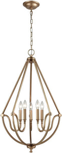 Elk Lighting Stanton 5-Light Chandelier Matte Gold 128425