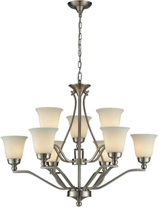 Sullivan 9-Light Chandelier Brushed Nickel