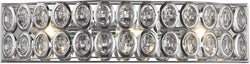 Elk Lighting Tessa 3-Light Vanity Polished Chrome/Clear Crystal 811513
