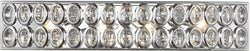 Elk Lighting Tessa 4-Light Vanity Polished Chrome/Clear Crystal 811524