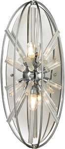 Elk Lighting Twilight 2-Light Wall Sconce Polished Chrome 11560/2