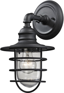 Elk Lighting Vandon 1-Light Outdoor Wall Light Textured Matte Black 45212/1